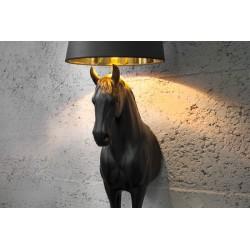 """CZARNA LAMPA INSPIROWANA """"Moooi - Horse Lamp"""""""
