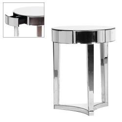 Lustrzany stolik ART DECO