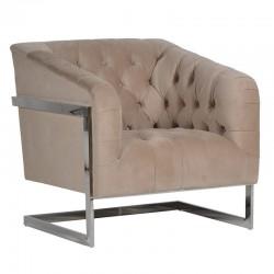 Fotel METROPOLIS Silver