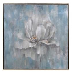 Obraz olejny WHITE FLOWER