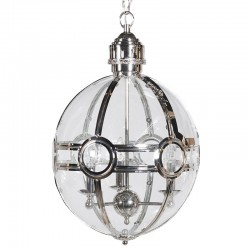 Lampa latarnia HOGWART srebrna