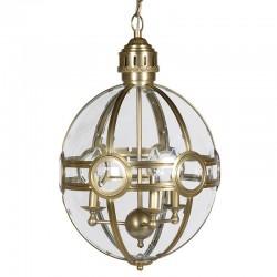 Lampa latarnia HOGWART złota
