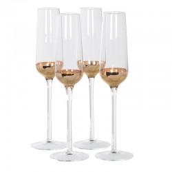 Komplet kieliszków do szampana DOLCE