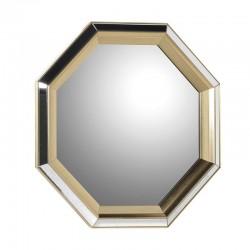 Lustro OCTAGONALE złote
