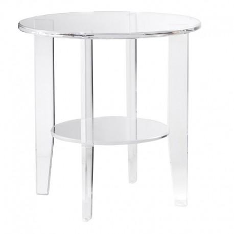 Bezbarwny stolik LUCIDIO