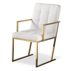 Krzesło STARCK Gold White