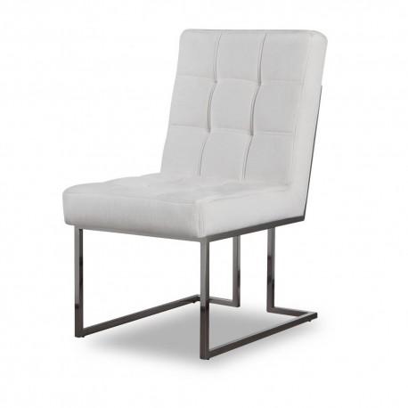 Krzesło STARCK I Silver White