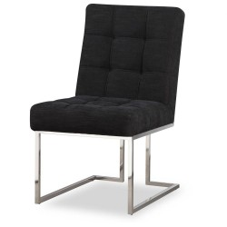 Krzesło STARCK I Silver Black