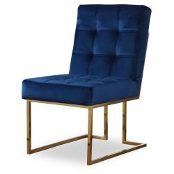 Krzesło STARCK I Gold Navy