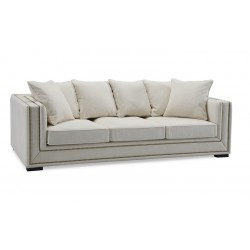 Sofa PARK AVENUE CHENILLE kremowa
