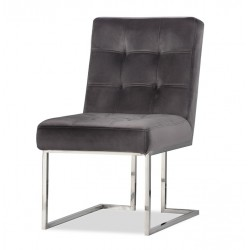 Krzesło STARCK I Silver Graphite