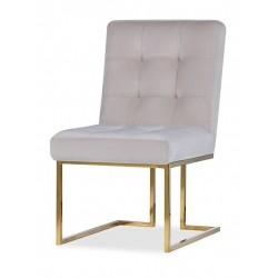 Krzesło STARCK I Gold Cream