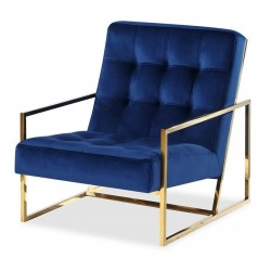 Fotel STARCK Gold Blue