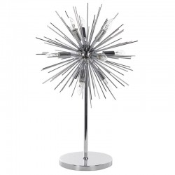 Lampa stołowa LE SOLEIL srebrna