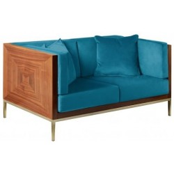 Sofa ASTORIA lazurowa