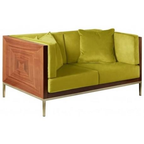 Sofa ASTORIA limonkowa