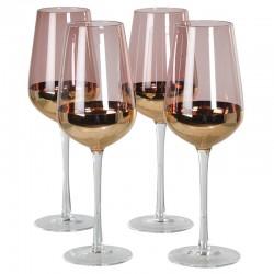 Komplet kieliszków do czerwonego wina DOLCE purpurowych