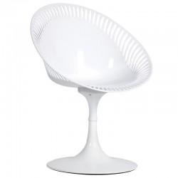 Krzesło TROMPETTE białe