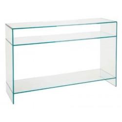 Szklana konsola LIBRETTO GLAMOUR