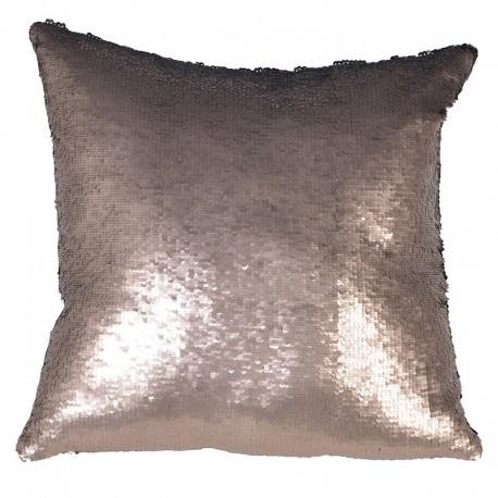 Poduszka OLLIE silver black