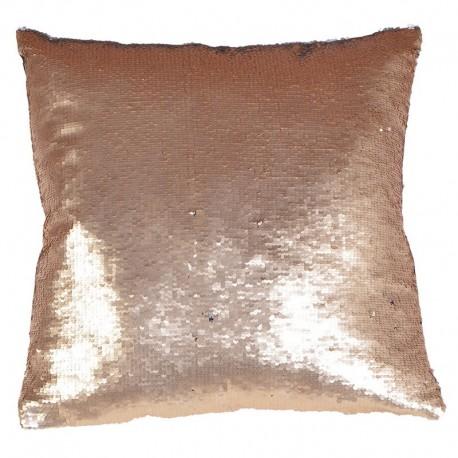 Poduszka OLLIE silver gold