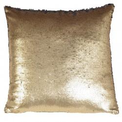 Poduszka OLLIE gold black