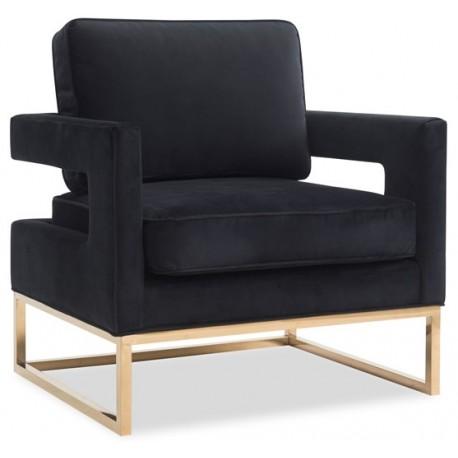 Fotel SENATO czarny