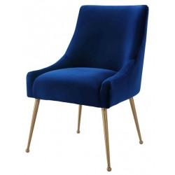 Krzesło OPHIDIA szafirowe