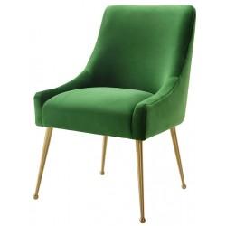 Krzesło OPHIDIA szmaragdowe