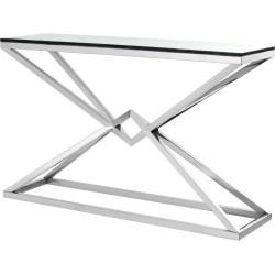 Geometryczna konsola ENVY srebrna
