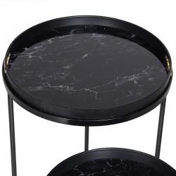 Stoliki MARBLE BLACK