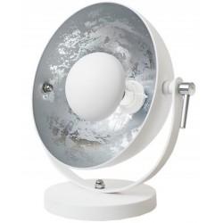 Lampa ETRO biało srebrna