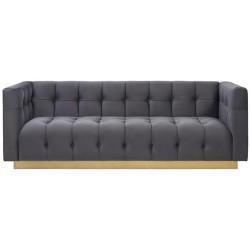 Sofa EMPEROR grafitowa