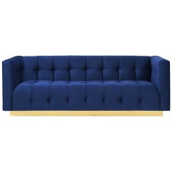 Sofa EMPEROR szafirowa