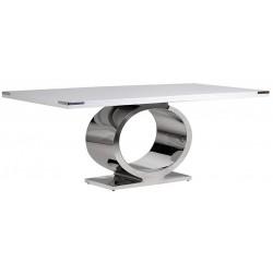 Stół METROPOLITAN Silver White