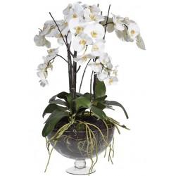 Kwiat WHITE ORCHID 90cm