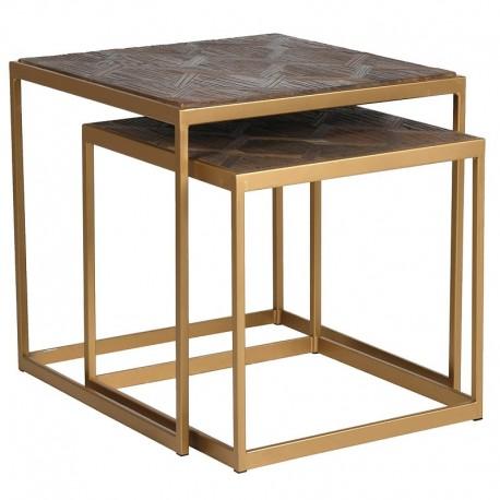 Komplet stolików LAURENT SQUARE