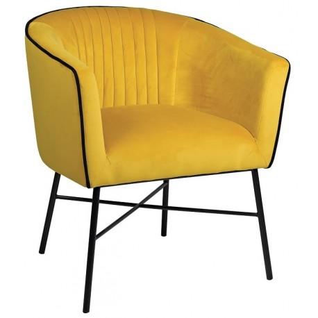 Fotel NANDO żółty