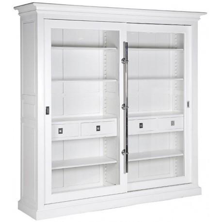 Biblioteka METROPOLITAN Silver White