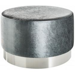 Pufa OTTAVI srebrno srebrna