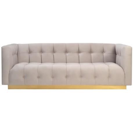 Sofa EMPEROR kremowa
