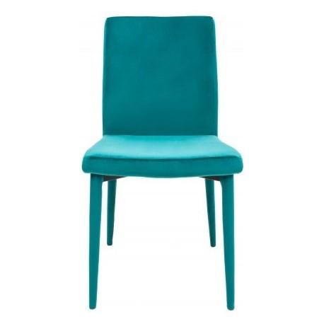 Krzesło CARIATI turkusowe