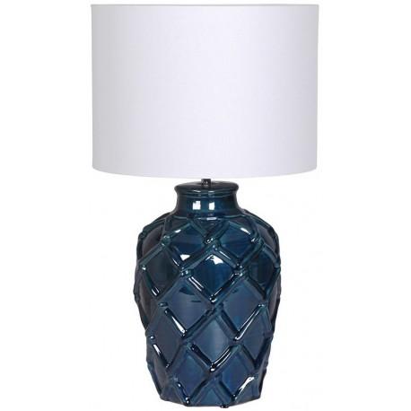 Lampa WEAVE granatowa