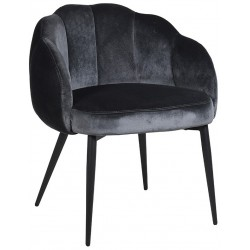 Krzesło TULIPE NOIRE