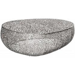 Stolik kawowy HONEY srebrny