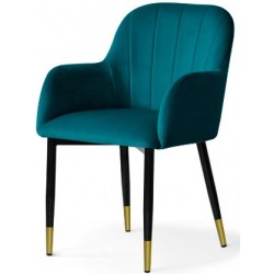 Krzesło ARDEN niebieskie