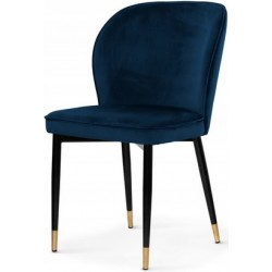 Krzesło GABRIELE granatowe