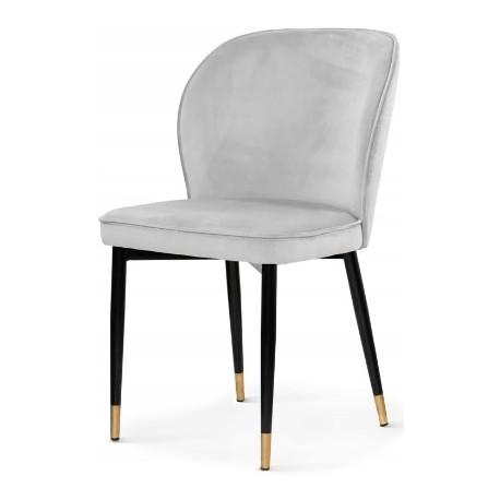 Krzesło GABRIELE jasnoszare