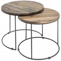 Komplet stolików ACACIA