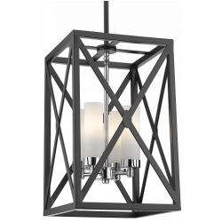 Lampa SURREY Black Silver
